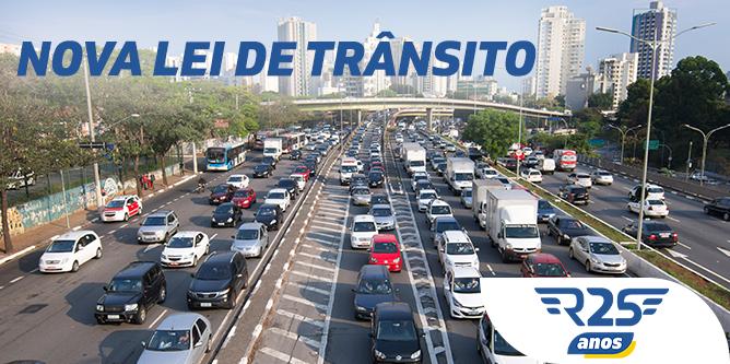 A Nova Lei de Trânsito traz mudanças significativas e que afetam diretamente os condutores.