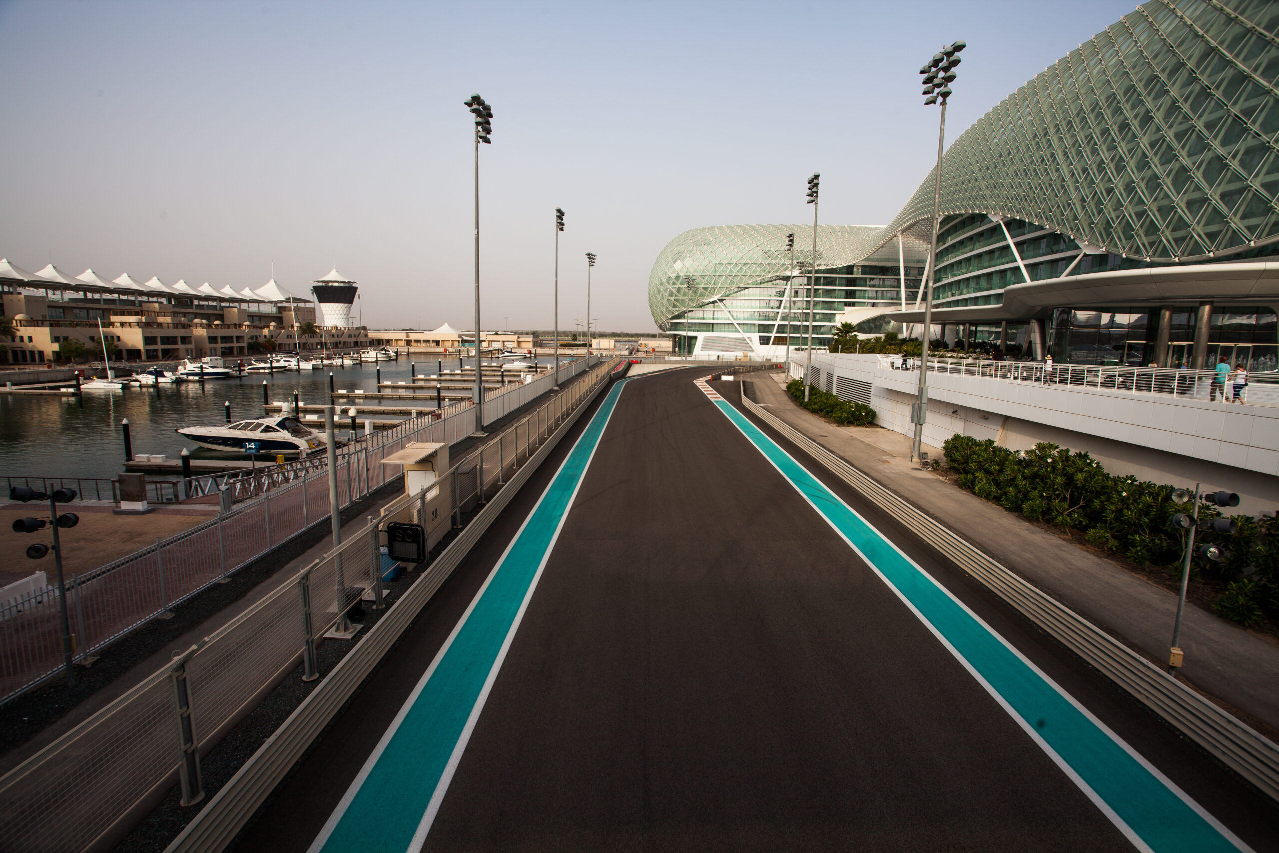 Uma das pistas utilizadas na Fórmula 1.